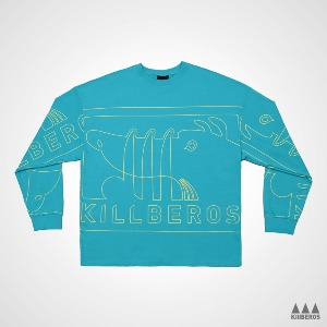 AUTHENTIC LOGO PATTERN CREWNECK
